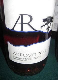 Happy Hour: Arroyo Robles 2006 Syrah Rosé