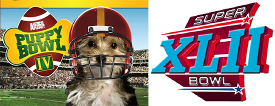 Super Bowl XLII vs. Puppy Bowl IV?