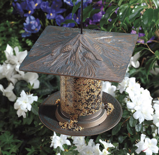 Feed the Birds: Pinecone Tube Feeder and Sunflower Seeds