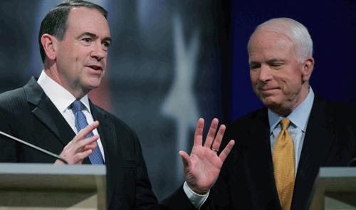 Check This: Are High Profile Republicans Anti-Huck?
