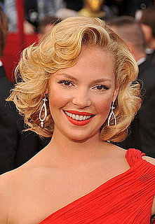 Katherine Heigl at the Oscars: hair and makeup