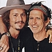 Johnny Depp with his Idol, Keith Richards! Great Photo Shoot!!