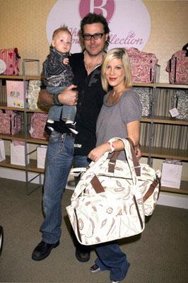 Tori Spelling, Husband Dean McDermott and son Liam