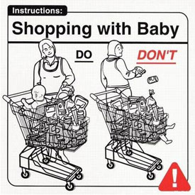 Shopping with Baby