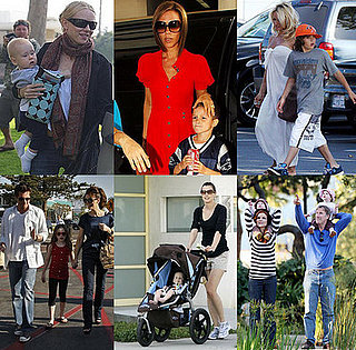 Celebrities and Their Babies Over the Weekend 2008-03-24 12:00:00