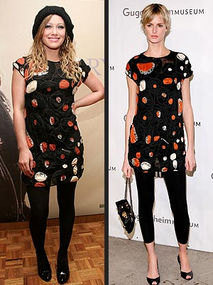 WHO WORE IT BEST: HILARY DUFF OR JACQUETTA WHEELER