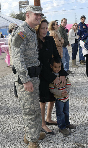 Maddox Jolie Pitt is making care packages for soldiers & it was his idea