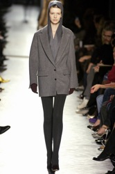Yves Saint Laurent long blazer coat as part of autumn winter 2008 collection