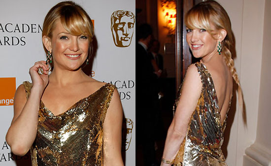 Kate Hudson at the 2008 BAFTA awards