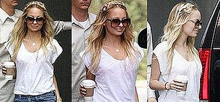 Nicole Richie Braided Hairstyle