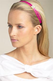 Pink Patent Leather Headband