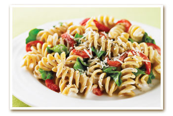 Roasted Red Pepper Caesar Rotini