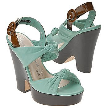 nanette lepore Women's Naughty Knot Wedge Shoe - Free Shipping