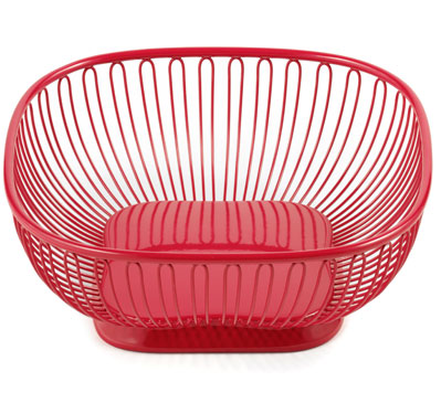 Nice and New(ish): Square Red Wire Basket