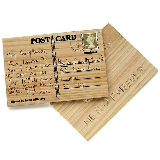 The Card Shop: Carve Your Own Postcard