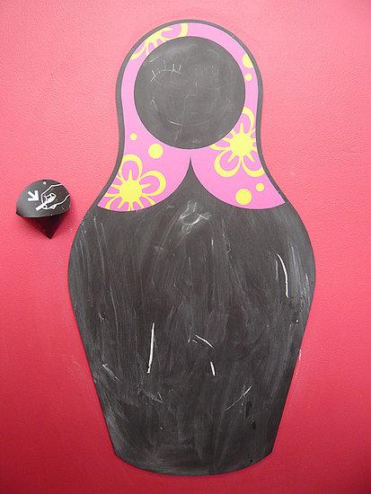 Nice and New: JM2 Matriochka Blackboard