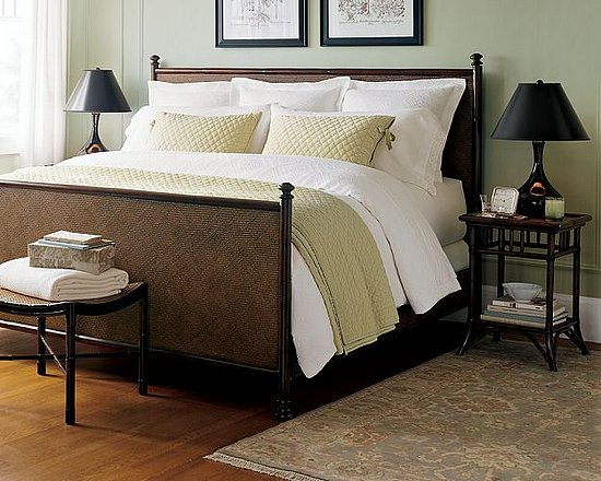 Steal of the Day:  Pottery Barn Classic Rattan Bed