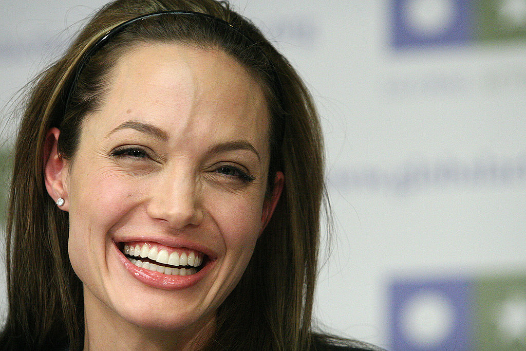 Angelina Jolie Puts On Her Serious Face for Advocacy
