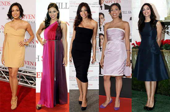 Which Rosario Dawson Seven Pounds Premiere Look Is Most Fab?