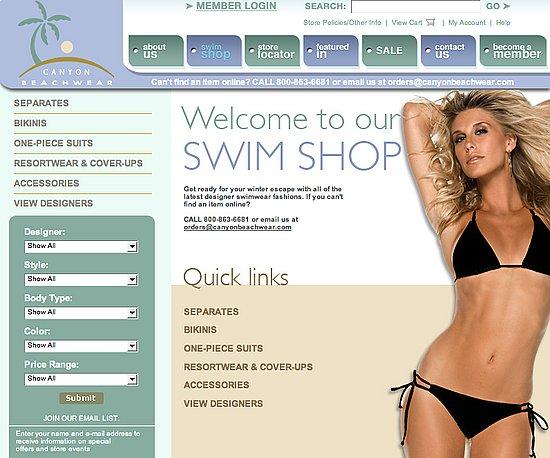 Fab Site: CanyonBeachwear.com