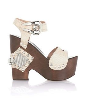 Roberto Cavalli Wooden Wedge Sandals: Love It or Hate It?