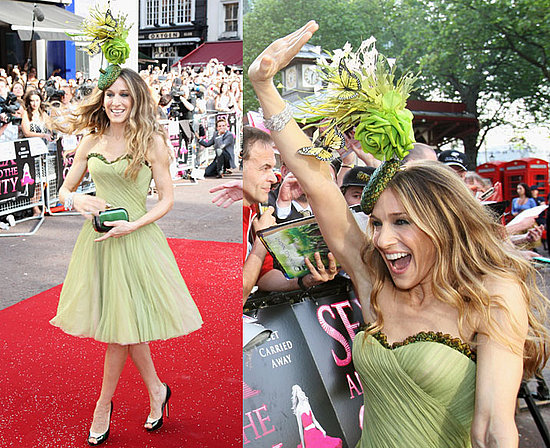 Sex and the City Movie London Premiere: Sarah Jessica Parker