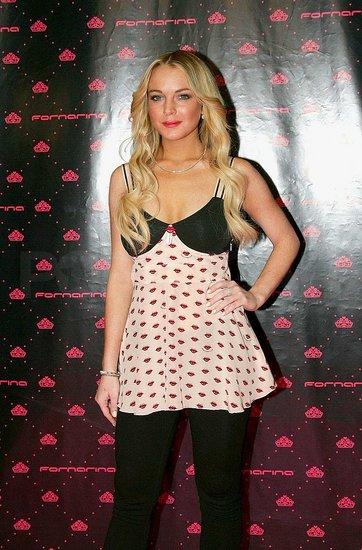 Fab Flash: Lindsay Lohan Is the Fornarina Ragazza
