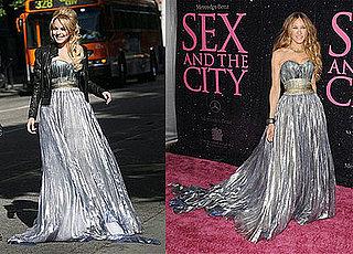 Who Wore It Better? Nina Ricci Metallic Gown
