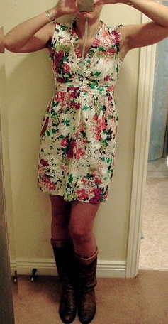 Look of the Day: Silky Flowers