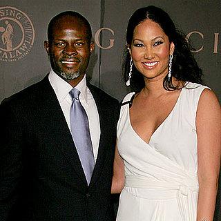 Celebrity Engagements: Kimora Lee Simmons & Djimon Honsou
