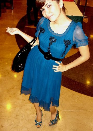 Look of the Day: Blueberry Pie