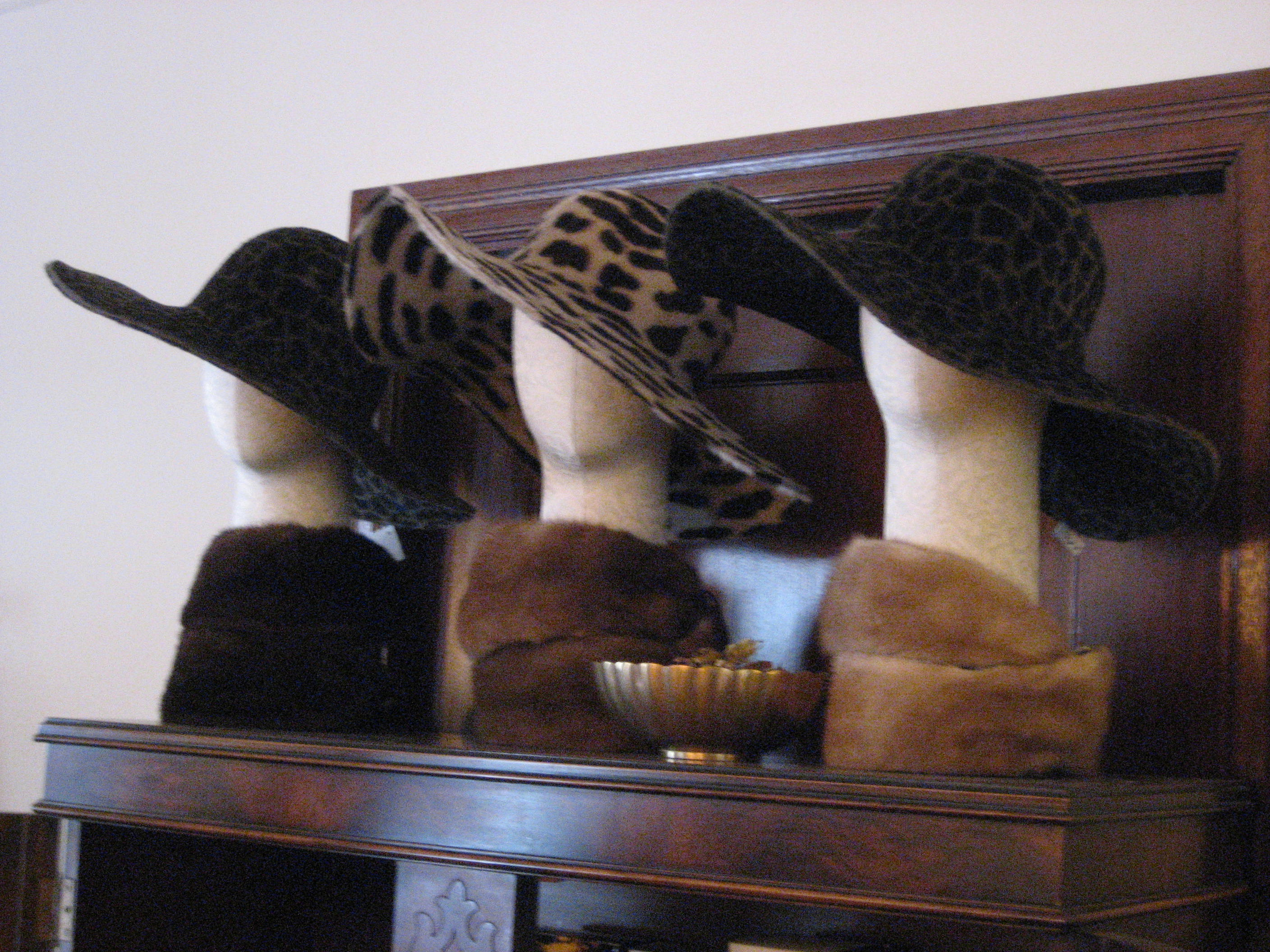 Hats, hats, and more hats.