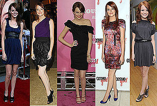 Emma Stone Looking Really Cute Promoting The House Bunny