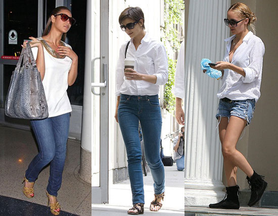 Trend Alert: White Atop Denim