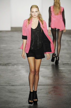 Dress Me Up: Pink (and Black) Lady