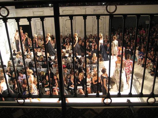 New York Fashion Week, Spring 2009: Oscar de la Renta