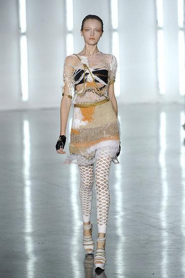 New York Fashion Week, Spring 2009: Crop It, Slice It