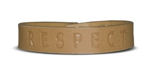 Wear Your RESPECT! on Your Wrist