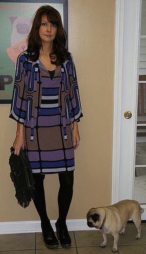 Look of the Day: Graphic Gal