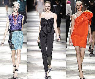 Paris Fashion Week, Spring 2009: Lanvin