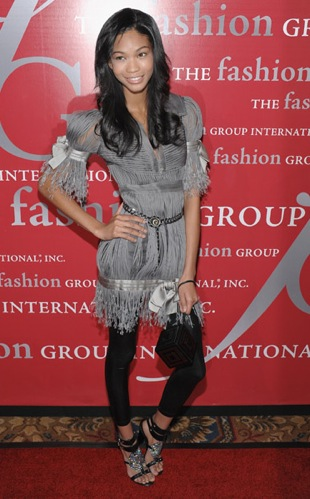 Chanel Iman in Funky Fringe Chanel: Love It or Hate It?