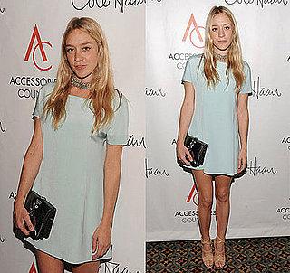 Chloe Sevigny in Mint Green Balenciaga at the 12th Annual ACE Awards