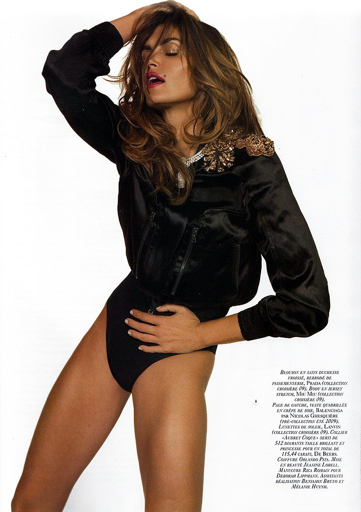 Girls on Film: Cindy Crawford, Vogue Paris, November '08