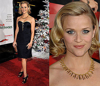 Reese Witherspoon in Nina Ricci at the premiere of Four Christmases in LA