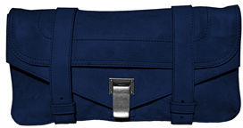 The Bag to Have: Proenza Schouler Leather Pouchette in Midnight