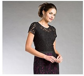 The Look For Less: DKNY Floral Lace Tee