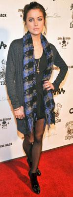 Celeb Style: Jessica Stroup