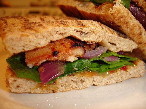 Tandoori Chicken Naanwich