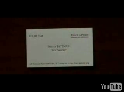 Business Card Battle Royale