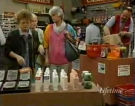 The Golden Girls Shop For Condoms